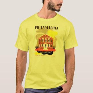 Philadelphia Pa. Carpenters Hall, WPA 1936 T-shirt