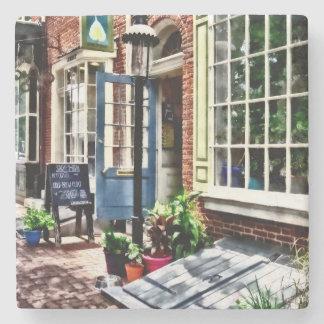 Philadelphia Pa Coffeehouse Stone Coaster