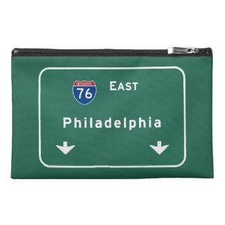Philadelphia pa Interstate Highway Freeway Road : Travel Accessories Bag