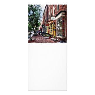 Philadelphia PA - S 2nd Street Rack Card