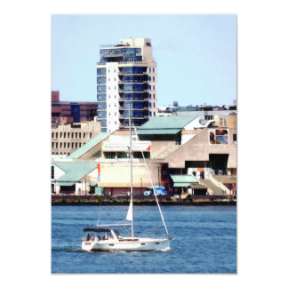 Philadelphia PA - Sailboat by Penn's Landing Card