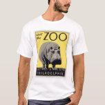 Philadelphia PA Zoo Hippo 1936 WPA T-Shirt