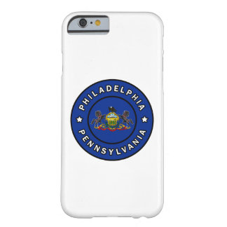 Philadelphia Pennsylvania Barely There iPhone 6 Case