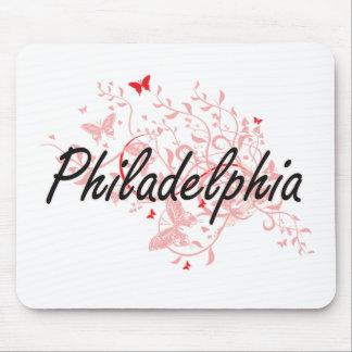 Philadelphia Pennsylvania City Artistic design wit Mouse Pad