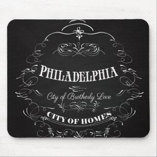 Philadelphia Pennsylvania - City of Brotherly Love Mouse Pad