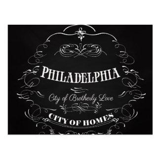 Philadelphia Pennsylvania - ciudad del amor Tarjetas Postales