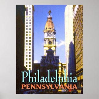 Philadelphia Pennsylvania - Fine Art Poster