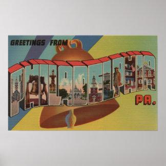 Philadelphia, Pennsylvania (Liberty Bell) Impresiones
