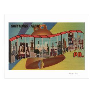 Philadelphia, Pennsylvania (Liberty Bell) Tarjetas Postales