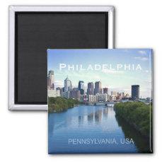 Philadelphia Pennsylvania Photo Souvenir Magnet