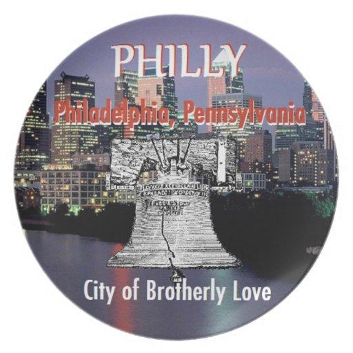 Philadelphia Pennsylvania Plate
