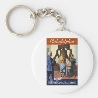 Philadelphia Pennsylvania Railroad Keychain