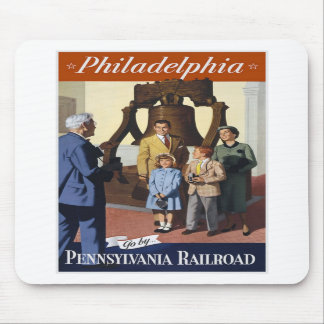 Philadelphia Pennsylvania Railroad Mousepads