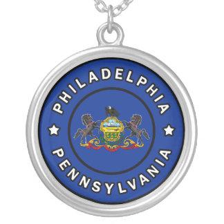 Philadelphia Pennsylvania Silver Plated Necklace