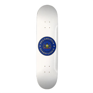 Philadelphia Pennsylvania Skateboard Deck