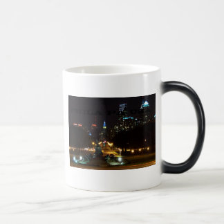 Philadelphia Pennsylvania Skyline at Night Magic Mug