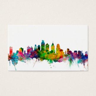 Philadelphia Pennsylvania Skyline Business Card