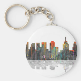Philadelphia Pennsylvania Skyline Keychain