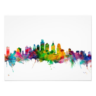 Philadelphia Pennsylvania Skyline Photo Print