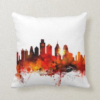 Philadelphia Pennsylvania Skyline Pillow