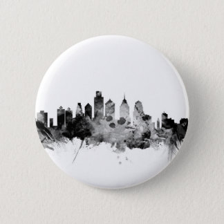 Philadelphia Pennsylvania Skyline Pinback Button