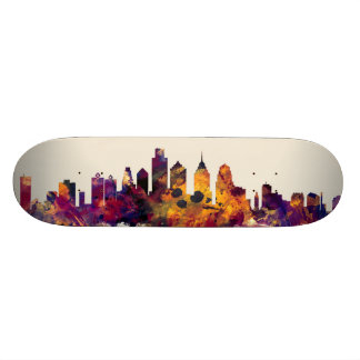 Philadelphia Pennsylvania Skyline Skateboard