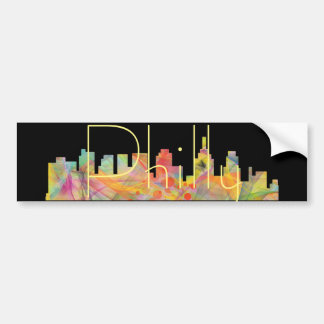 PHILADELPHIA PENNSYLVANIA SKYLINE WB1  - BUMPER STICKER