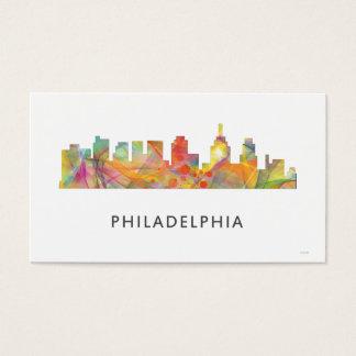 PHILADELPHIA PENNSYLVANIA SKYLINE WB1  - BUSINESS CARD