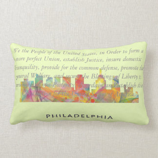 PHILADELPHIA PENNSYLVANIA SKYLINE WB1  - LUMBAR PILLOW