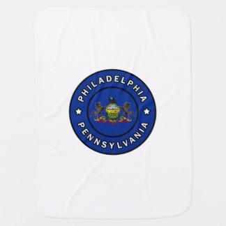 Philadelphia Pennsylvania Swaddle Blanket