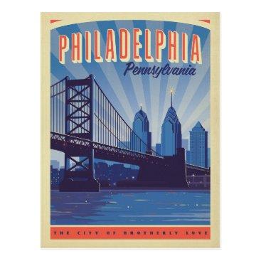 AndersonDesignGroup Philadelphia, Pennsylvania | The City Of Brotherly Postcard