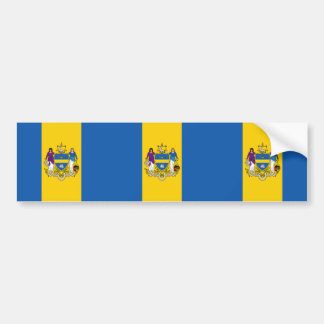 Philadelphia, Pennsylvania, United States flag Bumper Sticker