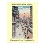 Philadelphia Pennsylvania View Including Wanamaker Post Cards
