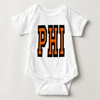 Philadelphia PHI Design 5 Baby Bodysuit