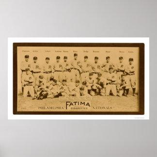 Philadelphia Phillies Team 1913 Poster