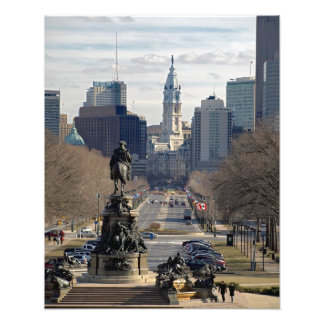Philadelphia PHOTO PRINT  COLOR