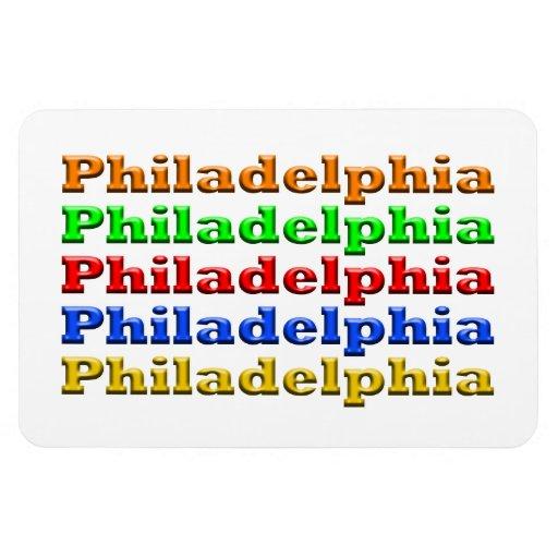 Philadelphia pone letras al imán superior