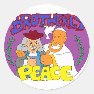 Philadelphia Pope 2015 T-Shirt & Merchandise Classic Round Sticker