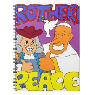 Philadelphia Pope 2015 T-Shirt & Merchandise Spiral Note Books