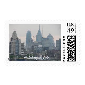 Philadelphia Postage Stamp