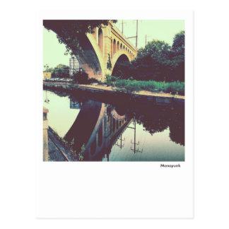 Philadelphia Postcard-Manayunk Towpath Postcard