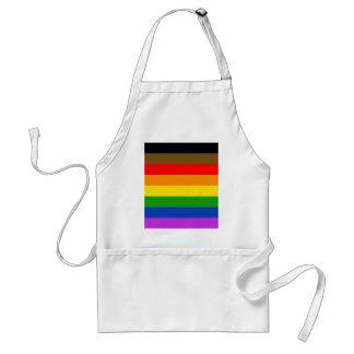 Philadelphia pride flag adult apron