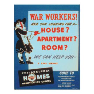 Philadelphia puede ayudar a trabajadores de la membrete personalizado