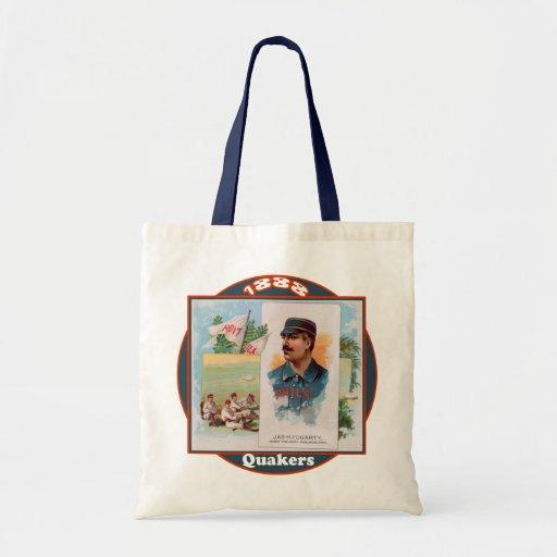 Philadelphia Quakers Budget Tote Bag