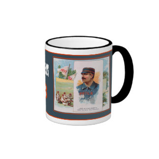 Philadelphia Quakers Ringer Coffee Mug
