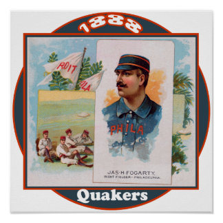 Philadelphia Quakers Poster