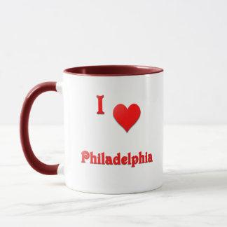 Philadelphia -- Red Mug