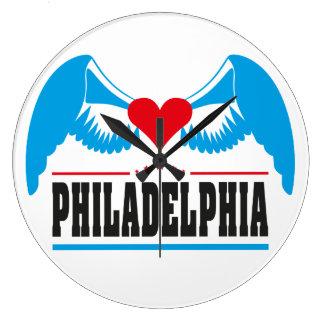 Philadelphia Reloj Redondo Grande