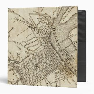 Philadelphia Road Map 3 Ring Binders