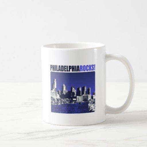 Philadelphia Rocks! Classic White Coffee Mug